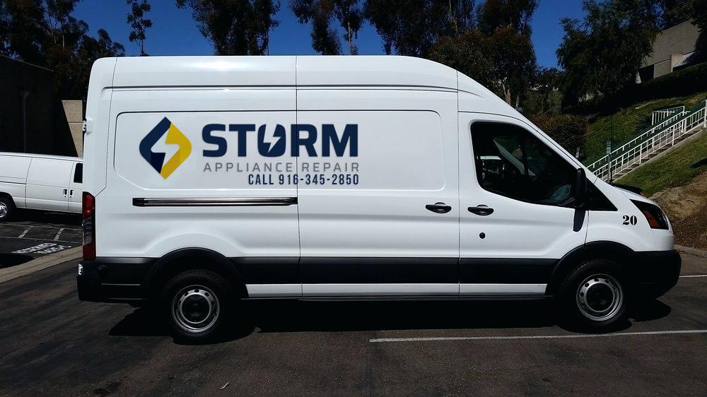 storm service van